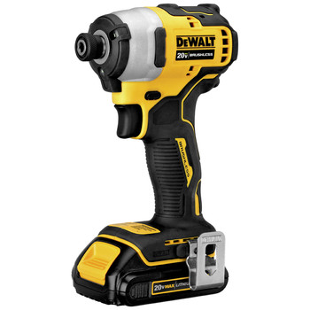 Dewalt DCF809C2 ATOMIC 20V MAX 1/4 in. Brushless Compact Impact Driver Kit with (2) Li-Ion Batt image number 1