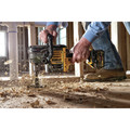 Dewalt DCD460T2 FlexVolt 60V MAX Lithium-Ion Variable Speed 1/2 in. Cordless Stud and Joist Drill Kit with (2) 6 Ah Batteries image number 1