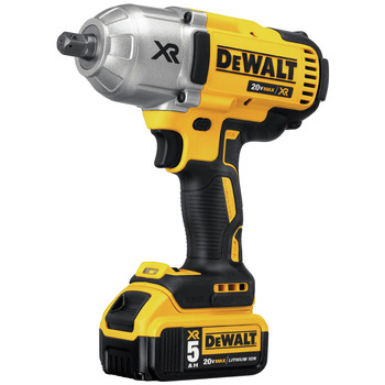Factory Reconditioned Dewalt DCF899P2R 20V MAX XR Cordless Lithium-Ion 1/2 in. Brushless Detent Pin Impact Wrench with 2 Batteries image number 2