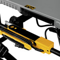 Dewalt DWE7491RS 10 in. 15 Amp  Site-Pro Compact Jobsite Table Saw with Rolling Stand image number 14