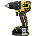 Dewalt DCD708C2-DCS354B-BNDL ATOMIC 20V MAX Compact 1/2 in. Cordless Drill Driver Kit and Oscillating Multi-Tool image number 4