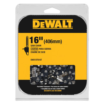 Dewalt DWO1DT616T 16 in. Chainsaw Replacement Chain