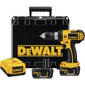 Factory Reconditioned Dewalt DCD775KLR 18V Lithium-Ion Compact 1/2 in. Cordless Hammer Drill Kit (1.1 Ah) image number 2