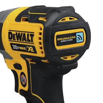 Dewalt DCF888D2 20V MAX XR 2.0 Ah Cordless Lithium-Ion Brushless Tool Connect 1/4 in. Impact Driver Kit image number 3