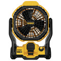 Factory Reconditioned Dewalt DCE511BR 20V MAX Lithium-Ion Corded/Cordless Jobsite Fan (Tool Only) image number 0