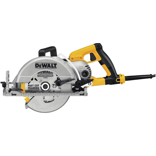 Dewalt Dws535b 7 1 4 In Worm Drive Circular Saw With Electric Brake