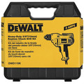 Dewalt DWD115K 3/8 in. 0 - 2,500 RPM 8.0 Amp VSR Mid-Handle Drill Kit with Keyless Chuck image number 9