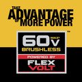 Dewalt DCCS670X1 60V 3.0 Ah FLEXVOLT Cordless Lithium-Ion Brushless 16 in. Chainsaw image number 10