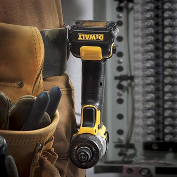Dewalt DCF610S2 12V MAX Cordless Lithium-Ion 1/4 in. Hex Chuck Screwdriver Kit image number 6