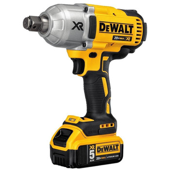 Dewalt DCF897P2 20V MAX XR 5.0 Ah Cordless Lithium-Ion Brushless 3/4 in. Hog Ring Impact Wrench Kit image number 1