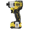 Dewalt DCF801F2 XTREME 12V MAX Brushless Lithium-Ion 1/4 in. Cordless Impact Driver Kit (2 Ah) image number 2