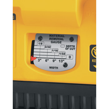 Dewalt DW735 13 in. Two-Speed Thickness Planer image number 5