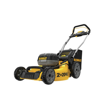 Factory Reconditioned Dewalt DCMW220P2R 2X 20V MAX 3-in-1 Cordless Lawn Mower
