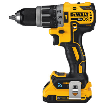 Dewalt DCD797D2 20V MAX XR Lithium-Ion Compact 1/2 in. Cordless Hammer Drill Kit with Tool Connect (2 Ah) image number 3