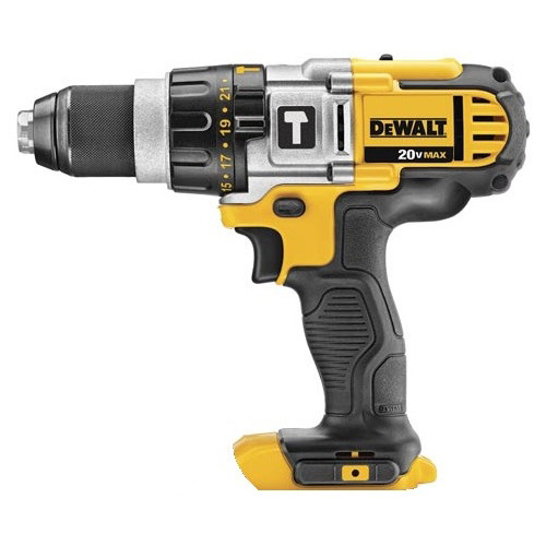 Factory Reconditioned Dewalt DCD985BR 20V MAX Lithium-Ion Premium 3-Speed Hammer Drill (Tool Only)