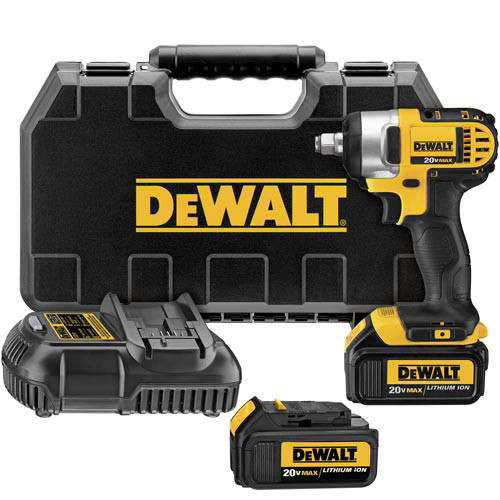 Factory Reconditioned Dewalt DCF880M2R 20V MAX XR Lithium-Ion 1/2 in. Impact Wrench Kit with Detent Pin image number 0