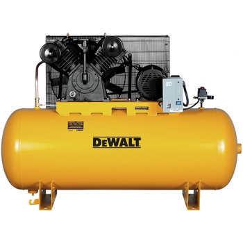 Dewalt DXCMH9919910 10 HP 120 Gallon Baldor Two Stage Oil-Lube Industrial Air Compressor