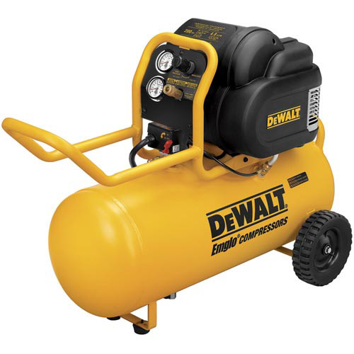 Factory Reconditioned Dewalt D55167R 1.6 HP 15 Gallon Oil-Free Dolly Air Compressor image number 0