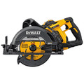 Factory Reconditioned Dewalt DCS577X1R FLEXVOLT 60V 9.0Ah MAX 7-1/4 in. Worm Drive Style Saw Kit image number 1