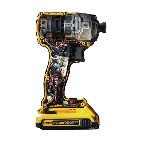 Factory Reconditioned Dewalt DCF887D2R 20V MAX XR Cordless Lithium-Ion 1/4 in. 3-Speed Impact Driver Kit with (2) 2.0 Ah Battery Packs image number 3