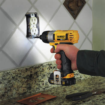 Factory Reconditioned Dewalt DCF610S2R 12V MAX Cordless Lithium-Ion 1/4 in. Hex Chuck Screwdriver Kit image number 11