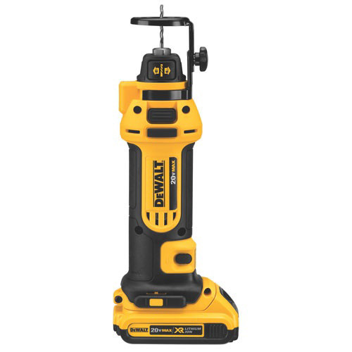 Dewalt DCS551D2 20V MAX 2.0 Ah Cordless Lithium-Ion Drywall Cut-Out Tool Kit
