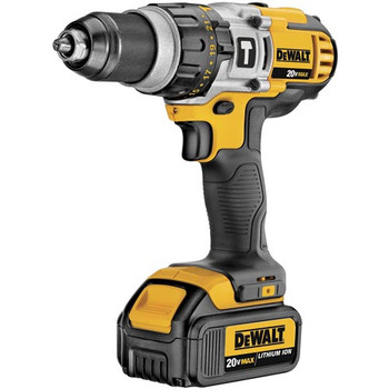 Dewalt DCD985M2 20V MAX Lithium-Ion Premium 3-Speed 1/2 in. Cordless Hammer Drill Kit (4 Ah) image number 2