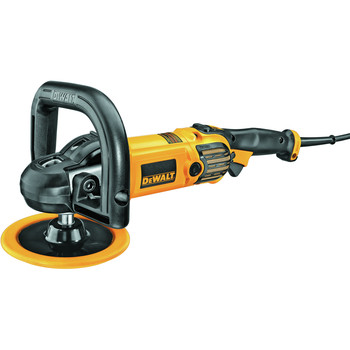 Dewalt DWP849 12 Amp 7 in./9 in. Electronic Variable Speed Polisher image number 10