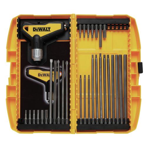 Dewalt Dwht70265 31 Piece Ratcheting T Handle Hex Key Set