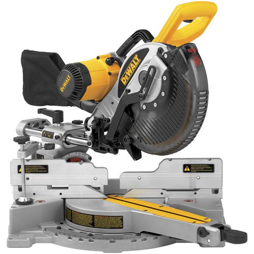 Factory Reconditioned Dewalt DW717R 10 in. Double Bevel Sliding Compound Miter Saw image number 0