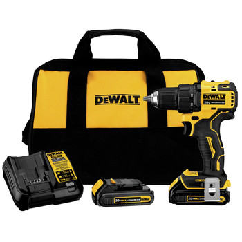 Dewalt DCD708C2 ATOMIC 20V MAX Brushless Compact 1/2 in. Cordless Drill Driver Kit (1.5 Ah)