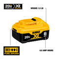 Dewalt DCB206 20V MAX Premium XR 6 Ah Lithium-Ion Slide Battery image number 4