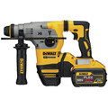 Dewalt DCH293X2 20V MAX XR Brushless 1-1/8 in. L-Shape SDS Plus Rotary Hammer Kit with 9.0ah image number 2