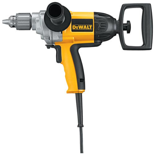 Dewalt DW130V 9 Amp 0 - 550 RPM 1/2 in. Corded Drill with Spade Handle image number 0