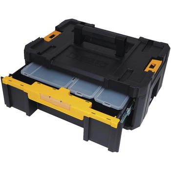 Dewalt DWST17803 TSTAK-3 1-Drawer Stackable Organizer image number 3