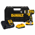 Factory Reconditioned Dewalt DCD795D2BTR 20V MAX XR Lithium-Ion Brushless Compact 2-Speed 1/2 in. Corded Hammer Drill Kit with Tool Connect (2 Ah) image number 0
