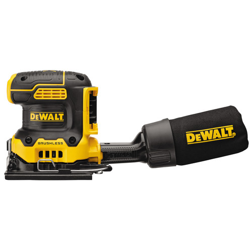 Dewalt DCW200B 20V MAX XR Brushless Lithium-Ion 1/4 Sheet Cordless Variable Speed Sander (Tool Only) image number 0