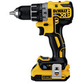 Factory Reconditioned Dewalt DCD792D2R 20V MAX XR Brushless Lithium-Ion 1/2 in. Cordless Compact Drill Driver Kit with Tool Connect (2 Ah) image number 1