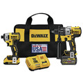 Dewalt DCK299D1T1 20V MAX FLEXVOLT Cordless Lithium-Ion Hammer Drill & Impact Driver Combo Kit with 2 Batteries