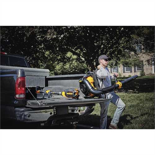 Factory Reconditioned Dewalt DCBL590X2R 40V MAX Cordless Lithium-Ion XR Brushless Backpack Blower Kit with 2 Batteries image number 9