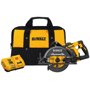 Dewalt DCS577X1 FLEXVOLT 60V 9.0Ah MAX 7-1/4 in. Worm Drive Style Saw Kit