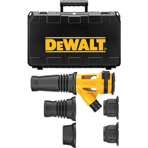 Dewalt DWH053K Hammer Chipping Dust Extractor Attachment Kit image number 0