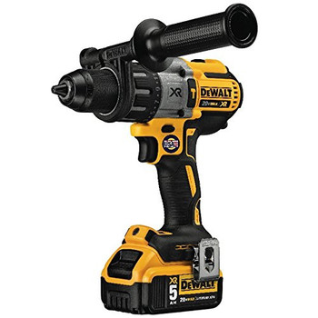 Dewalt DCD996P2 20V MAX XR Lithium-Ion Brushless 3-Speed 1/2 in. Cordless Hammer Drill Kit (5 Ah) image number 3