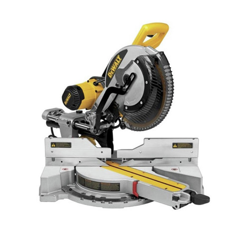 Dewalt DWS780-SEPT15-BNDL1 12 in. Double Bevel Sliding Compound Miter Saw with Heavy-Duty Miter Saw Stand image number 0