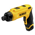 Dewalt DCF680N2 8V MAX Cordless Lithium-Ion Gyroscopic Screwdriver Kit with 2 Compact Batteries image number 1
