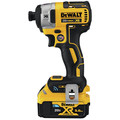 Dewalt DCF888P2BT 20V MAX XR 5.0 Ah Cordless Lithium-Ion Brushless Tool Connect 1/4 in. Impact Driver Kit image number 1