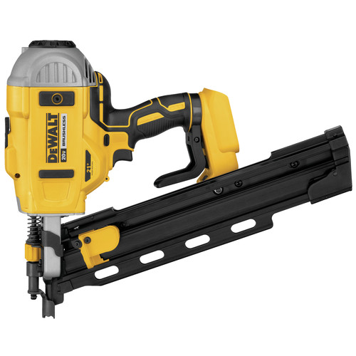 Dewalt DCN21PLB 20V MAX 21-degree Plastic Collated Cordless Framing Nailer (Tool Only) image number 0