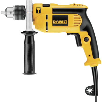 Factory Reconditioned Dewalt DWE5010R 7 Amp Single Speed 1/2 in. Corded Hammer Drill Kit image number 1