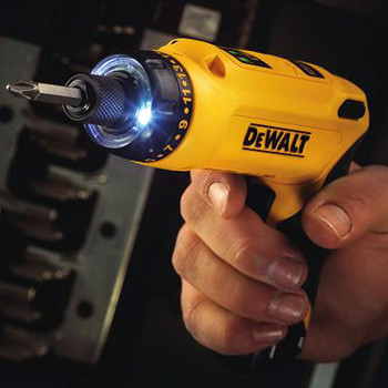 Factory Reconditioned Dewalt DCF680N2R 8V MAX Cordless Lithium-Ion Gyroscopic Screwdriver Kit with 2 Compact Batteries image number 5
