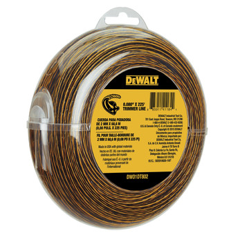 Dewalt DWO1DT802 0.080 in. x 225 ft. String Trimmer Line image number 1